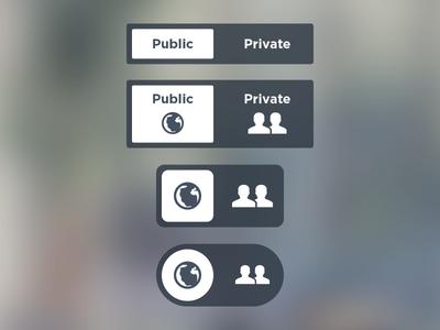 Privacy Toggles