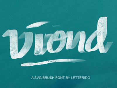 VIOND typeface