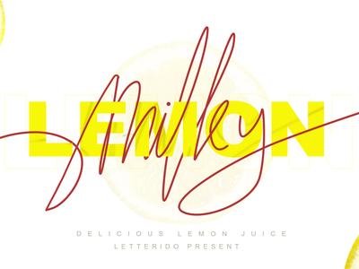 milky lemon