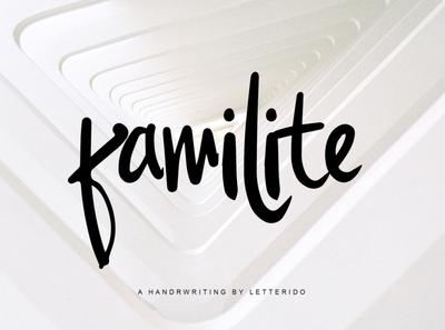 Familite Free Font