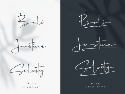 Galinta Opentype Signature font design elegant font namecard id card design brand brand identity branding fashion free font branding agency illustration adobe illustrator minimalism brushtype typography typeface fonts collection freefont fonts font