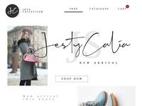 Jova Collection UI Design