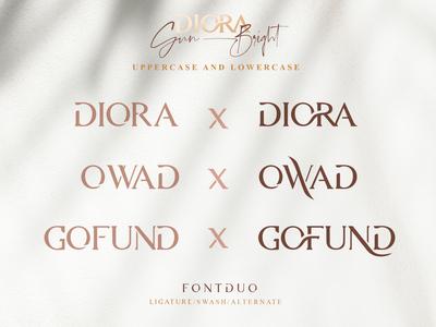 Diora Sunbright Opentype