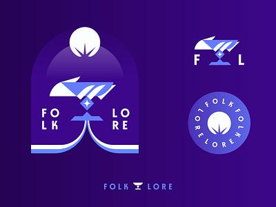 Folk & Lore chalice star destiny space patch gradient badge traveler purple hand cup
