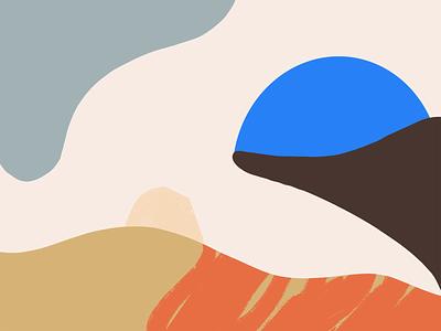 Composition 02 texture shape procreate palette color illustration composition