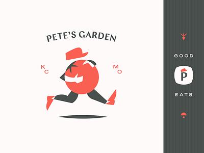 Pete's Garden green orange brand vegetable fruit food