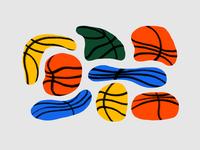 Flat Basketballs