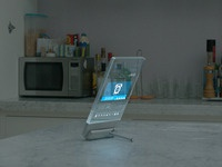 Smart glass in-home display