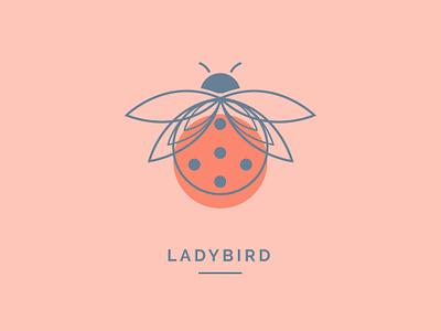 Ladybird #1 ladybird illustrator logo illustration fun design