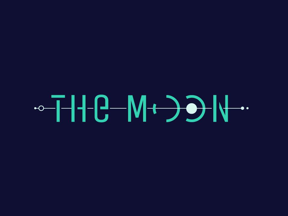 Moon #1 space moon logo illustrator color illustration fun design