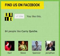 Customised Facebook Like Box