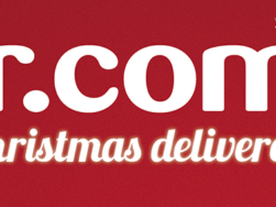 Chistmas delivered logo christmas branding typography illustration