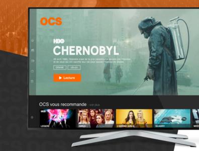 OCS - Smart TV App Redesign
