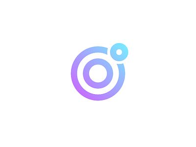 Logo Challenge   Camera App minimalism gradient dailylogochallenge glare lens camera flat logotype logo