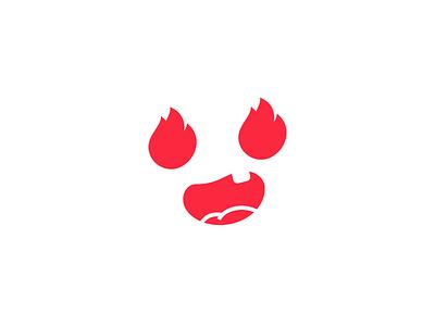 Logo Challenge   Baby Apparel tooth smile fire logotype logomark logo flat dailylogo dailylogochallenge baby