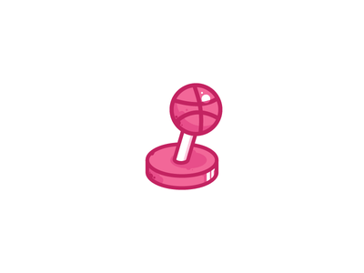 Logo Challenge   Arcade Logo illustration game dailylogochallenge joystick dribbble arcade flat logotype logo