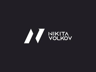 LOGO   NIKITA VOLKOV grotesque antique branding type wordmark typography logomark minimalism logotype logo