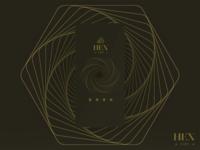 HexCoin - Splash Screen/Landing Page