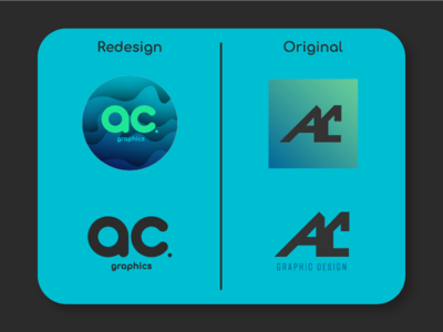AC Graphics - Logo Comparison