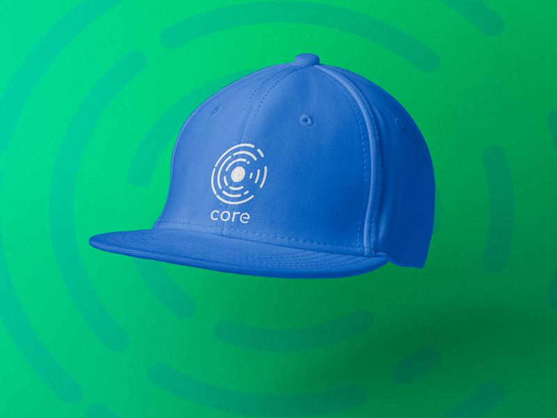 Core Brand - Snapback Mockup project logo hat product mockup mockup brand identity branding core