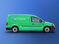 Core Brand - Van Mockup