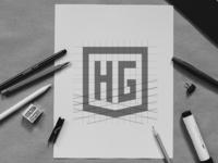 HG Monogram  - Process