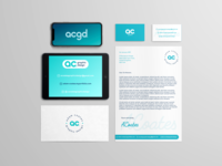 AC Graphics - Stationary Branding Mock-up