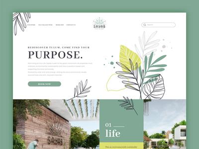 Eco Village Landing Page