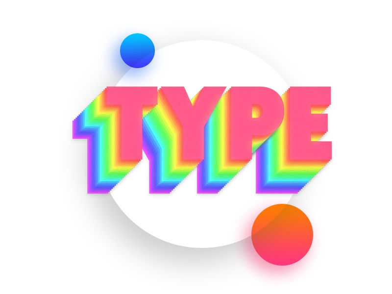 Free Photoshop Action - Spectrum Stretch free action photoshop colors hue typography