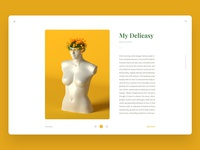 Minimal Blog content