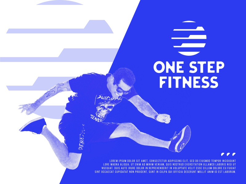 One step logo design