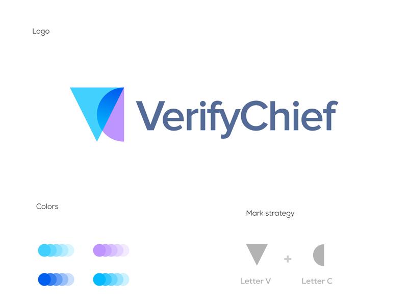 VC monogram brand negative space abstract logo overlay lettermark letterforms monogram logomarks c logo branding logo design v logo cv logo vc logo