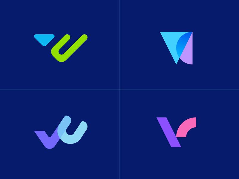 VC exploration app logo letterforms logos logomarks branding monogram overlay logodesign vc logo v exploration vc exploration vc