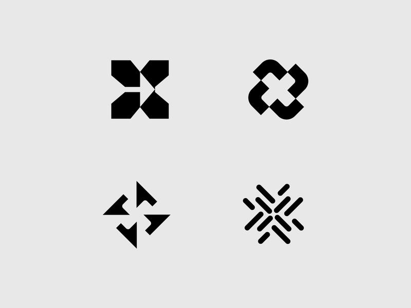 xkeep explorations logomarks arrow arrow logo x arrow abstract logo symbol letterforms negative space accounting lettermark monogram x letter logo x logo branding