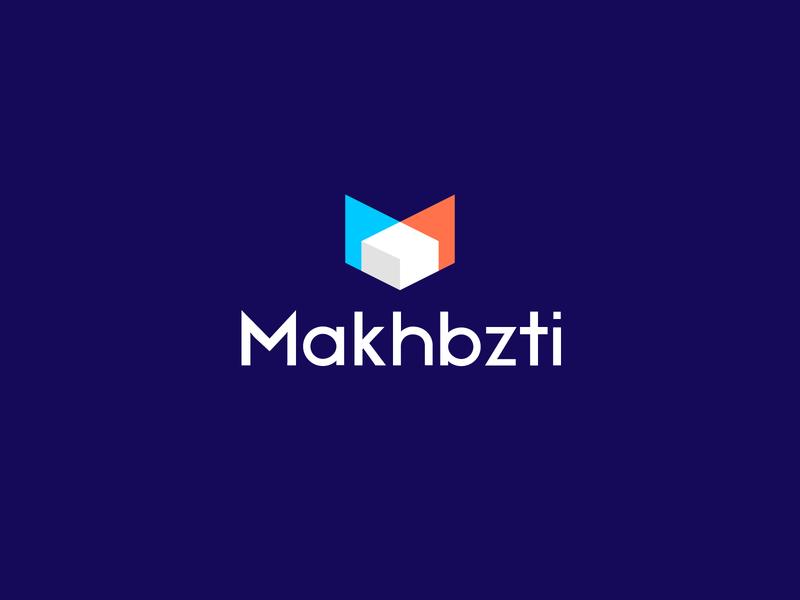 Makhbazti symbol monogram transparent overlay abstract logo logodesign app logo letterforms logo design branding lettermark arrow logo logomarks m letter logo m logo