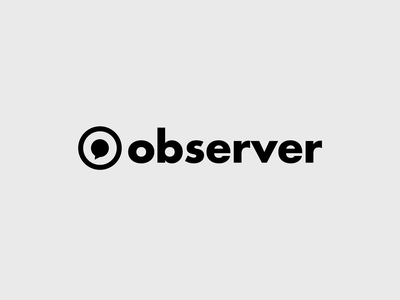 observer logos professional logo design negative space monogram luxury minimal chat bubble chat simple logo community network branding o letter logo o letter o logo