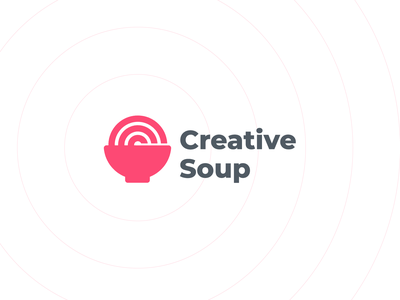 Creative Soup luxury brand abstract logo logo design negative space c letter letterforms logo designer monogram branding minimal design good c logo shop creative market creative logo soup