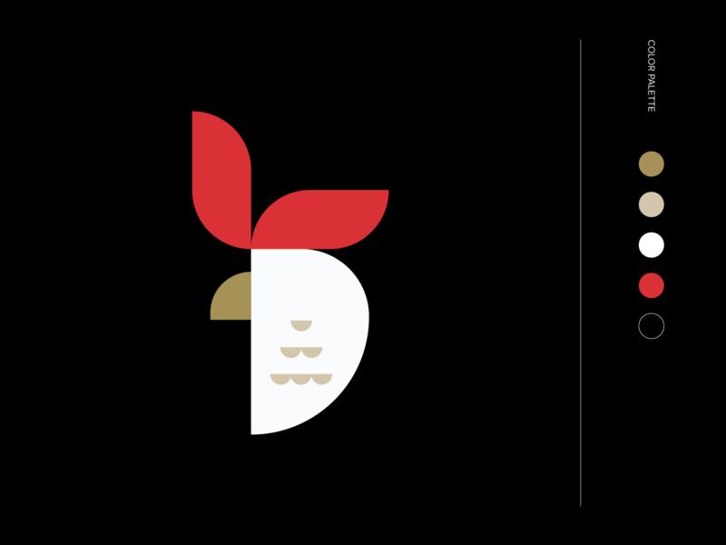 Logo Training Channel rooster logo logomarks negative space lettermark brand logos mark identity branding logo tips logo learn monogram logo logo tutorial