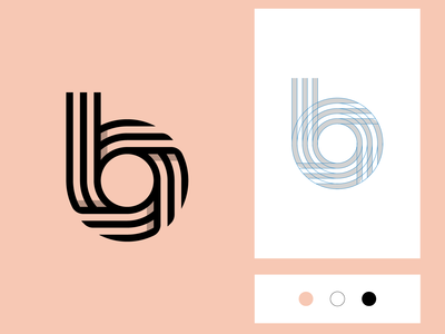 b Logo Design Tutorial