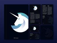 Unicorn logo visual identity