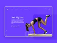 NIKE - Landing Page