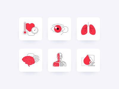 Bitgenia - Brand Illustration System icons vector branding brand personality illustration design ui