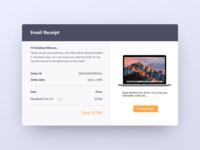 Daily UI 017-Email Receipt