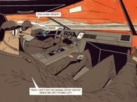 FUTURO DARKO: Comic Page/Desert
