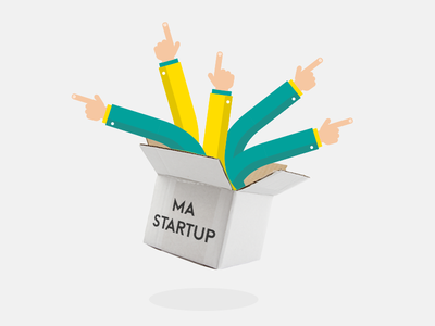 Arms Box arm arms box startup rennes frenchtech flat finger pointer suit