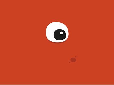Flat Monsters [1] oeil monstre eye flat monster