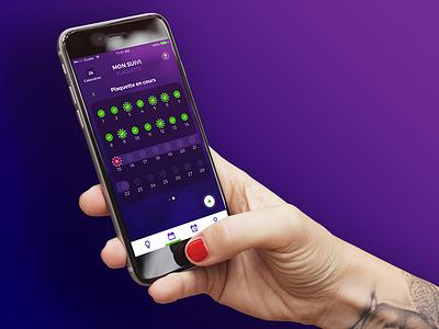 Pill'Oops - Mobile app ux health ios pill app mobile ui