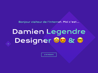 Un Coin d'pixel - UI & UX Designer portfolio