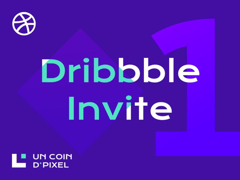 Dribbble Invite - 2019 invitation pixel purple dribbble shot invite