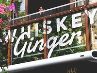 Whiskey Ginger Signage